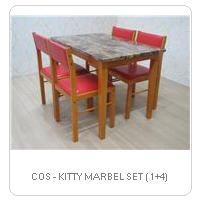 COS - KITTY MARBEL SET ( 1+4)